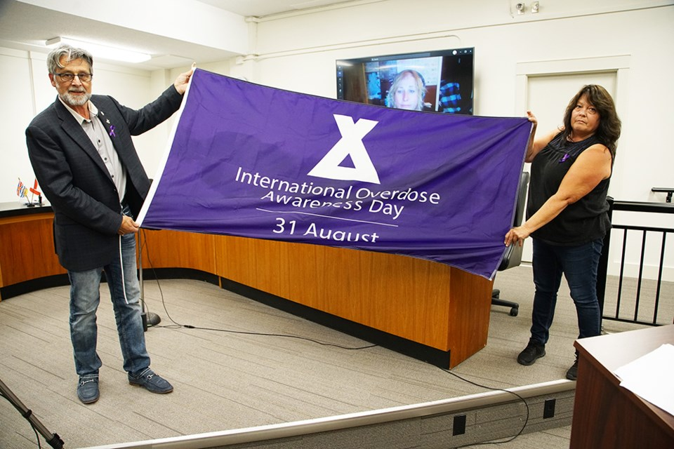 March scheduled in qathet region to recognize International Overdose Awareness Day